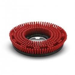 Spazzola di lavaggio rossa diam. 430 mm