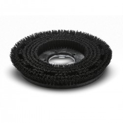 Spazzola di lavaggio dura nera diam. 430 mm