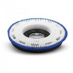 Spazzola di lavaggio medio/morbida blu/azzurra diam. 430 mm