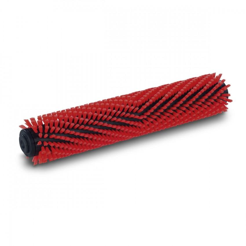 Rullo spazzola medio rosso 300 mm