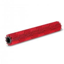 Rullo spazzola medio rosso 450 mm