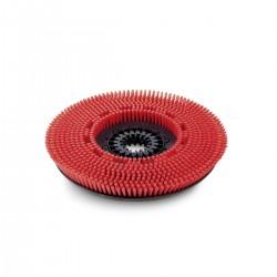 Spazzola a disco medio rosso 430 mm