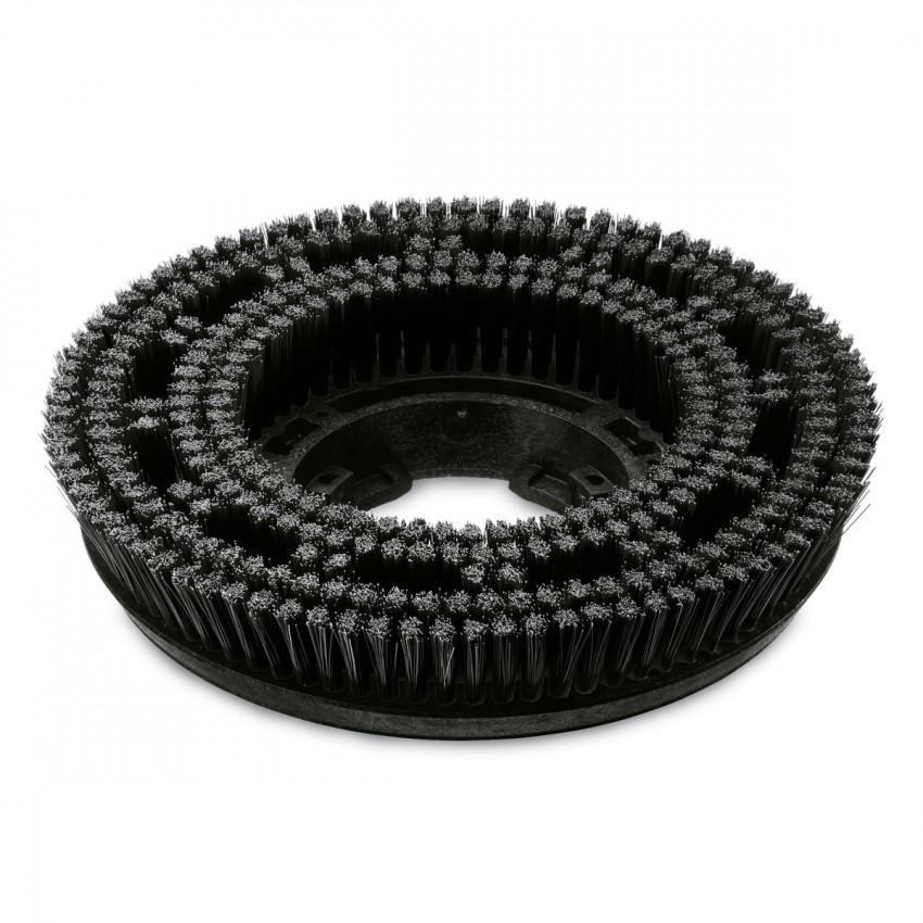 Spazzola a disco duro nero 430 mm