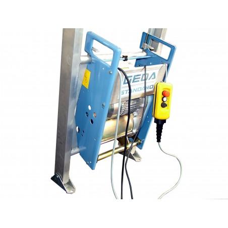 Elevatore a scala a batteria GEDA LIFT da mt 10