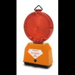 Lampeggiatore stradale Euroflash Rosso fisso (confezione 12 pz)