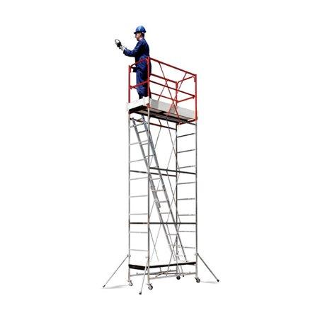Trabattello Cervino altezza fino a 5,12 mt