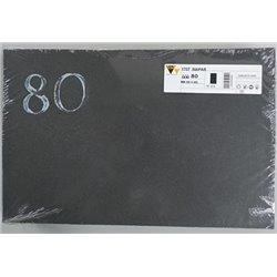 Carta abrasiva bifacciale 300x460 Gr. 80 per Planfix PRO55 conf. da 10 pz