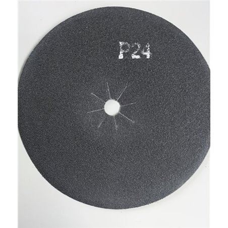 Disco abrasivo bifacciale per parquet diam. 406 mm Gr. 24 conf. da 5 pz