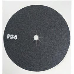 Disco abrasivo bifacciale per parquet diam. 406 mm Gr. 36 conf. da 10 pz
