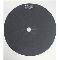 Disco abrasivo bifacciale per parquet diam. 406 mm Gr. 60 conf. da 10 pz