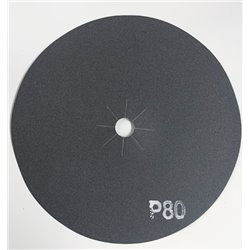 Disco abrasivo bifacciale per parquet diam. 406 mm Gr. 80 conf. da 10 pz