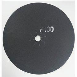 Disco abrasivo bifacciale per parquet diam. 406 mm Gr. 100 conf. da 10 pz