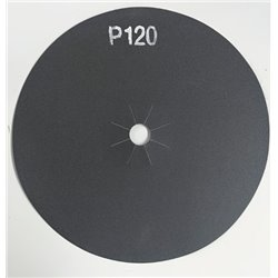 Disco abrasivo bifacciale per parquet diam. 406 mm Gr. 120 conf. da 10 pz