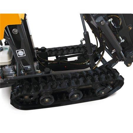Motocarriola Katoimer mod. Carry 105 con pianale sponde apribili