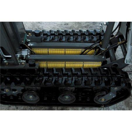 Motocarriola Katoimer Mod. Carry 105 Electric con pianale sponde apribili