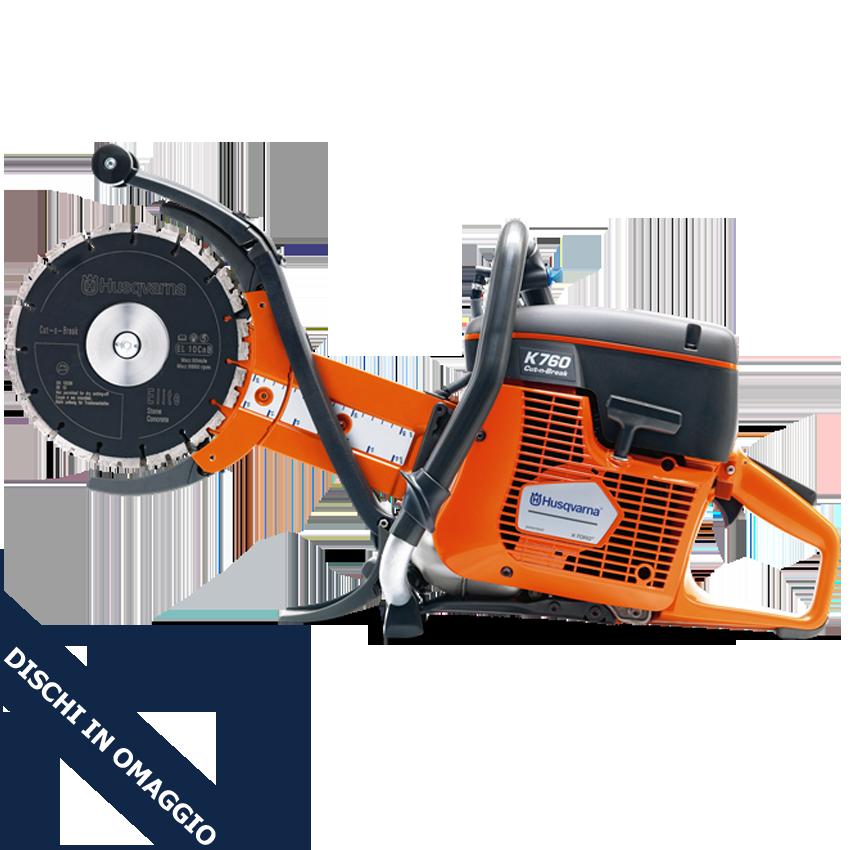 Mototroncatrice Husqvarna K 760 Cut-n-Break