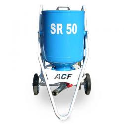 Sabbiatrice a secco ACF da 50 Lt mod. SR 50 con attrezzatura mt 10