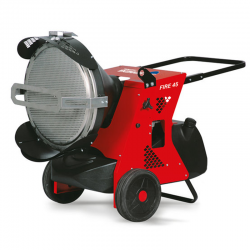 Riscaldatore a infrarossi a gasolio Biemmedue Fire 45