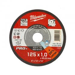 Disco da taglio acciaio PRO + diam. 125 mm