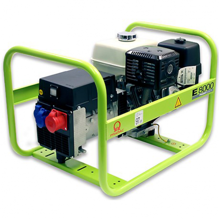 Generatore Pramac E8000 trifase