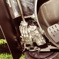 Rasaerba Honda HRD 536 HX EH con Mulching