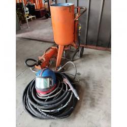 Sabbiatrice ACF SA 50 con separatore di condensa