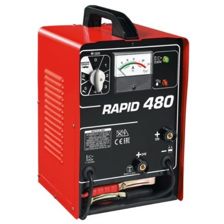 Caricabatterie e avviatore Helvi Rapid 480