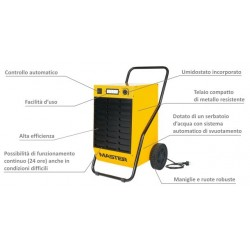 Deumidificatore professionale DH 62