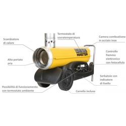 Riscaldatore a gasolio automatico BV 77